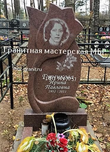 памятник в форме цветка