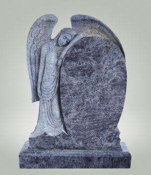 памятник с ангелом из гранита на могилу