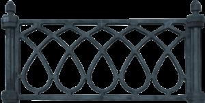 литые ограды