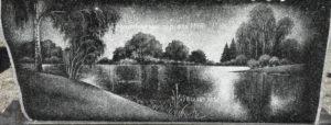 пейзаж на памятник
