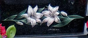 цветы для гравировки на памятник
