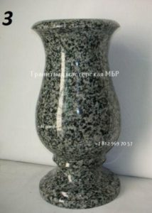 вазы из гранита