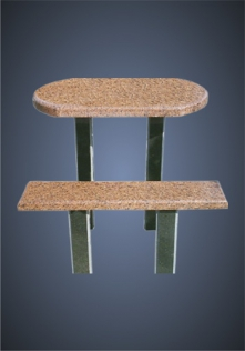 столик из гранита