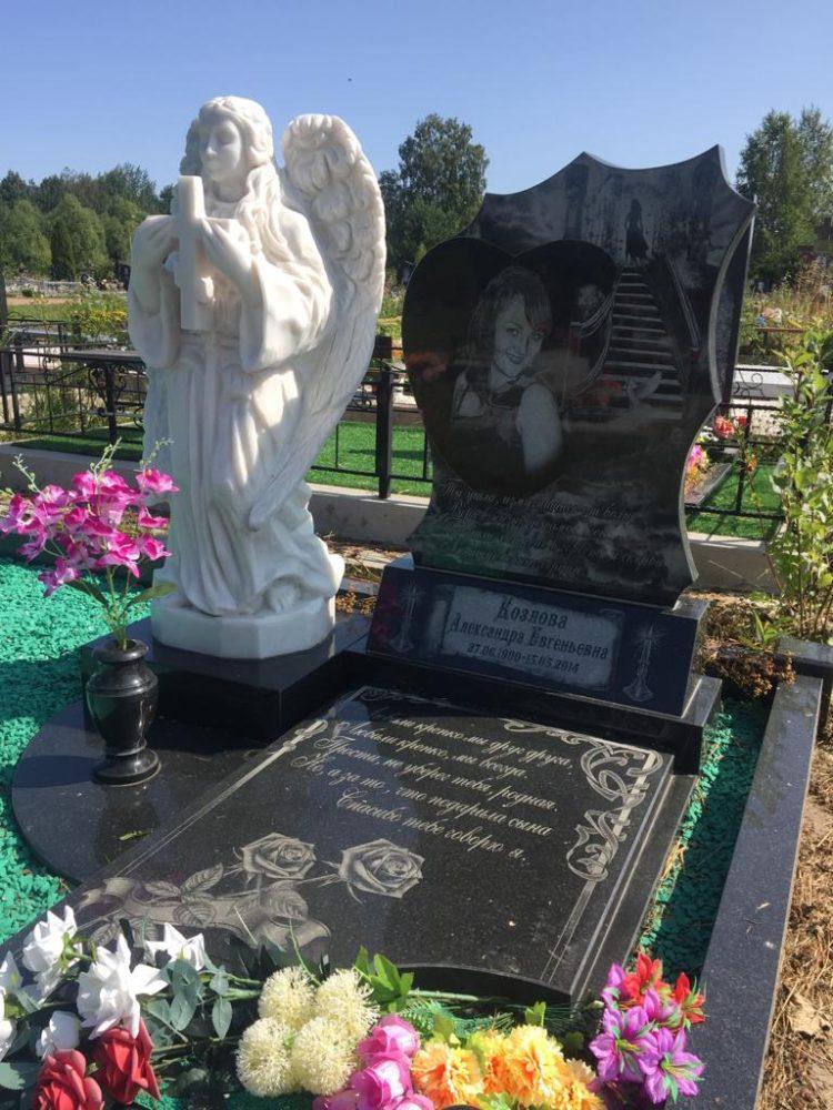 расскажу, памятники и надгробия фото прохладный она отдыхала близкими