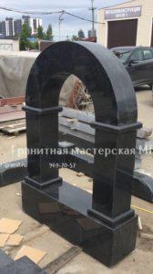 арка из гранита