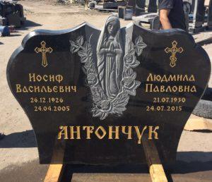 памятник с Мадонной