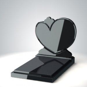 памятник в форме сердца