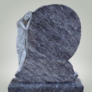 надгробие со скорбящей