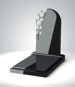 надгробие в форме арки