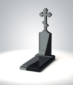 надгробие христианский крест
