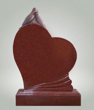 памятник с голубками