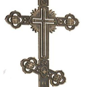 ритуальный чугунный крест