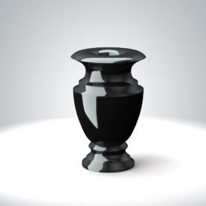 гранитная ваза на кладбище