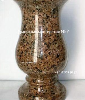 каменная ваза для цветов на могилу