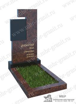 оригинальный памятник на кладбище