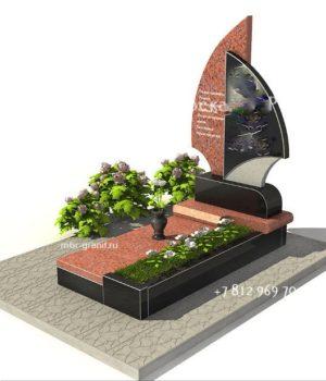 Комплекс на могилу гранитный