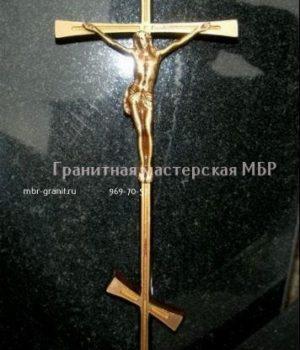 православный крест из бронзы