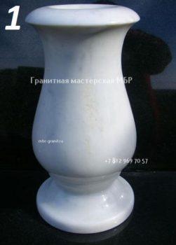 ваза из мрамора