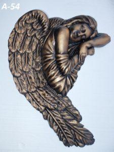 барельеф на памятник ангел