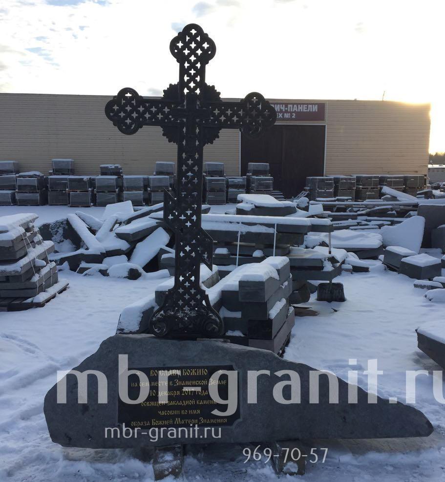 крест чугунный
