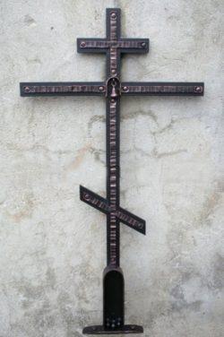 кованый крест на могилу СПб