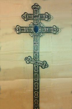 большой кованый крест